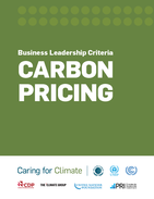 Business Leadership Criteria on Carbon Pricing